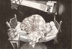 Groundhog sleeps in this year, by Karen Farrell