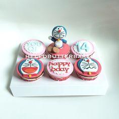 Doraemon cupcakes