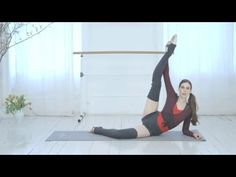Ballet Beautiful Sneak Peek - 15 Minute Ballet Body & Inner Thigh Blast! - YouTube