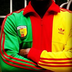 """@EnLawded.com.com's photo: """"Sorry but Let's Celebrate Cameroon (EnLawded.com) #Adidas #Originals #Cameroon #Collector #Retro #Africa #African #Yaounde #samueleto #black #lion #negro #Swag #picstitch #instamood #beautiful #instadaily #tweegram #igers #webstagram #adidasog #adidasoriginals #hiphop #instagramhub #threestripes @EnLawded.com.com http://www.enlawded.com/celebrate/the_cameroon_track_top"""""""