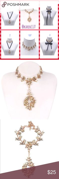 ✨New Luxury Crystal Gold Choker Detachable Pendant Beautiful Gold tone and Gol…  ✨New Luxury Crystal Gold Choker Detachable Pendant Beautiful Gold tone and Gold color Crystal Gems, does NOT come with the ribbon. Showing 5/6 way ..  http://www.beautyfashionfragrance.us/2017/06/18/%E2%9C%A8new-luxury-crystal-gold-choker-detachable-pendant-beautiful-gold-tone-and-gol/