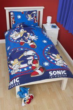 Sonic The Hedgehog Sprint Single Duvet