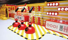 McDonald's Happy Factory on Behance