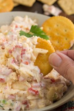 Using gouda cheese instead of the traditional cheddar in Gouda Pimento Cheese gives this recipe a delicious twist. Pimento Cheese is a popular Southern spread consisting of cheese, pimento peppers, mayonaise, and seasonings. This cheesy spread can be used in a sandwich, or a grilled sandwich, to top burgers, or as a dip with crackers. It can be eaten hot or cold. And, it's great for picnics and tailgating.