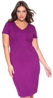 Wonderful stretch knit dress, Plus Size Lola Dress