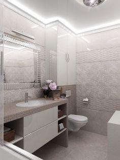 У кого в ванной такая плитка, похвастайтесь, пожалуйста... Small Full Bathroom, Wc Bathroom, Fitted Bathroom, Bathroom Layout, Bathroom Design Luxury, Modern Bathroom Decor, Modern Bathroom Design, Bathroom Wallpaper Trends, Bathroom Design Inspiration
