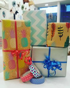 Free gift wrapping! Let us know if you're buying a gift and we'll make it look swell 🎁 #giftwrapping #presents