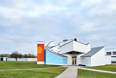 On a foggy day in early May, we visited Vitra Design Museum Co-Director Marc Zehntner at the Vitra Campus in Weil am Rhein just outside of Basel to discuss the . Frank Gehry, Eames, Vitra Design Museum, Design Movements, Historical Artifacts, Tubular Steel, Furniture Collection, Architecture, Entrance