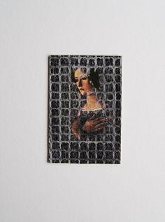 Original Collage Art: Portrait of a woman  by joyfulstudio, $25.00