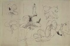 """Loie Fuller dancing"" 1892 Hunterian Art Gallery - Whistler collections ""Loie Fuller dancing"" 1892 drawing Manufacture: CRE WHISTLER, James McNeill; (American; 1834-1903) Materials: Pen and black ink on off-white wove paper Dimensions: 20.9 x 31.9 Catalogue number: GLAHA 46173"