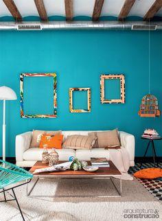 Paleta viva: conheça 19 projetos que abusam das cores - Casa