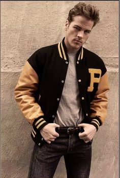 Black Yellow. People wearing these jacket are subconsciously linked to the college student stereotype, and are perceived as bold and strong