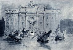 [A3N] : The Fountains of Trevi, Rome / John Ruskin