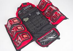 The Prometheus Lacuna Medical Bergan has been designed with decades of experience from first response medical professionals and specialist tactical product developers. Emergency Preparedness Kit, Emergency Preparation, Tactical Survival, Tactical Gear, Tactical Equipment, Everyday Carry Bag, Lacuna, Medical Bag, Survival Supplies