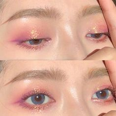 K Beauty, Beauty Makeup, Eye Makeup, Hair Beauty, Pretty Makeup, Makeup Looks, Ethereal Makeup, Lashes, Indie
