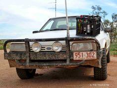 Oodnadatta track, Australia with THE TOURISTIN