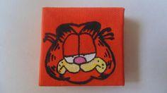 Garfield Magnet Cat Orange Yellow White Black by YumJellyDonuts, $5.00