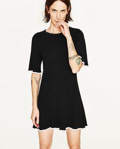 SHORT SLEEVE DRESS-DRESSES-WOMAN | ZARA United States