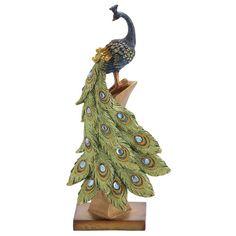 Found it at Wayfair.ca - Peacock Table Décor Figurine