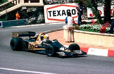 Jody Scheckter won his second of three victories for Wolf at Monaco