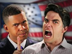 """Barack Obama vs Mitt Romney. Epic Rap Battles Of History Season 2. Best thing ever! """" so rich and white its like I'm running against a cheesecake"""""""