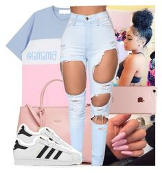 """""""b*tch mad, tell that b*tch beat me up"""" by lamamig ❤ liked on Polyvore featuring Incase, Furla and adidas"""