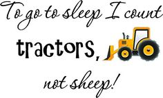Bathroom Scale Décor | To go to sleep I count tractors not sheep PRINTED tractor cute inspirational home vinyl wall quotes decals sayings art lettering * You can find more details by visiting the image link. Note:It is Affiliate Link to Amazon.