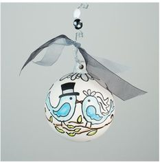 GLORY HAUS Forever and Always Ornament | underthecarolinamoon.com