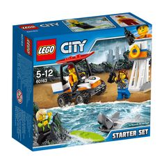 Lego City - Coast Guard Starter Set 60163 - Brand New and Sealed - Free Post in Toys, Hobbies, Building Toys, LEGO Building Toys Legos, Lego Ninjago, All Lego, Lego Friends, Lego Coast Guard, Avion Cargo, Construction Lego, Lego Knights, Lego City