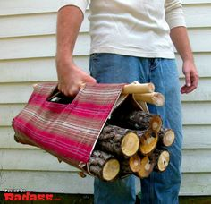 Crafts for men-clever and clean way without taking masses of room to store when empty.