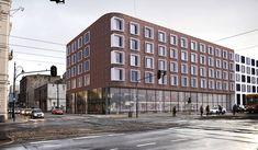 Muzeum Nalewki Ziemi Łódzkiej i aparthotel powstaną przy skrzyżowaniu Ogrodowej z Nowomiejską