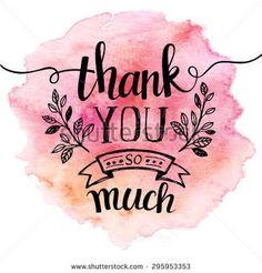 Hasil gambar untuk thank you hand lettering