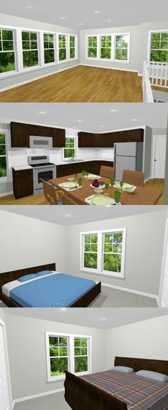 PDF house plans, garage plans, & shed plans. Garage House Plans, Shed Homes, Carriage House, Shed Plans, Townhouse, Floor Plans, Pdf, Flooring, How To Plan