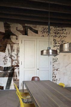 """""""Mémoires"""" designed by Marco Campedelli – www.londonart.it #wallpapers #fuorisalone #londonart"""