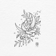 Pin by ally kennedy on ink tattoo designs, tattoo design drawings, tattoos. Moon Tattoo Designs, Tattoo Design Drawings, Tattoo Designs For Women, Tattoo Sketches, Art Drawings, Neue Tattoos, Body Art Tattoos, Sleeve Tattoos, Ink Tattoos