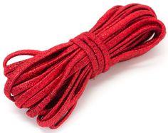 Nylon #Red Metallic Stretch #Cord 23ft #DIY #craft #jewelry