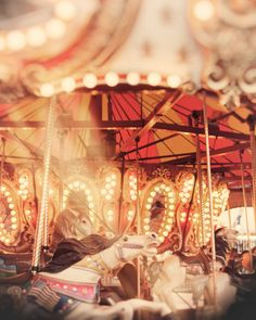 Carousel photography carnival ride merry go by Carl Christensen