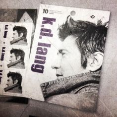 Oh Canada! kd lang got her own damn postage stamp. Makes me want to mail something.