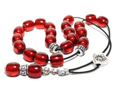 Worry Beads Greek Komboloi Cherry Red color Round Barrel Beads Relaxation Meditation. Follow @alterdeco.eu for awesome Handcrafted Accessories. You can get 10% OFF with the discount code INSTA10. Link is in the bio @alterdeco.eu  #komboloi #begleri #worrybeads #stressrelief #greekkomboloi #greece #greeks #greekbegleri #greekworrybeads #greekbeads #madeingreece #greekgift #birthdaygift #giftformen #giftfordad #fathergift #boyfriendgift Cherry Red Color, Greek Gifts, Relaxation Meditation, Gifts For Father, Boyfriend Gifts, Barrel, Birthday Gifts, Greeks, Beads