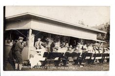 1910 Parker's Variety Store Post Card Racks RPPC Real Photo Postcard | eBay