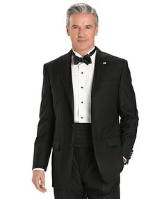 """Brooks Brothers - Formalwear -  """"Brooks Brothers can also be a good choice, though their better-quality Golden Fleece line is cut for an older, stockier man."""""""