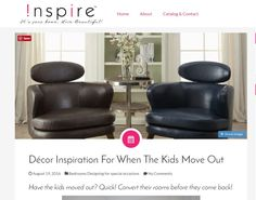 Have the kids moved out? Quick! Convert their rooms before they come back!  New Blog Post http://theinspireblog.com/2016/08/decor-inspiration-for-when-the-kids-move-out/