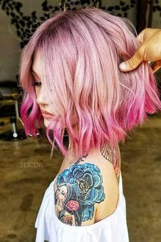 18 Gorgeous Short Ombre Hairstyles, Are you looking for Short Ombre Hairstyles? Here are 18 Gorgeous Short Ombre Hairstyles for you to get inspiration from them. Cool Short Hairstyles, Winter Hairstyles, Hairstyles Haircuts, Short Haircuts, Amazing Hairstyles, Casual Hairstyles, Braided Hairstyles, Wedding Hairstyles, Medium Hair Styles