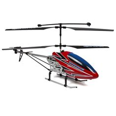 World Tech Toys Gyro Sparrow 3.5ch RC Helicopter, Red