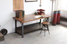 Vintage Industrial 6' Long Pollard Antique Workbench/ Retail Counter/ Kitchen Island/ Desk/ Bar - 1920s