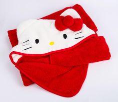 Hello Kitty Hooded Classic Blanket Wrap