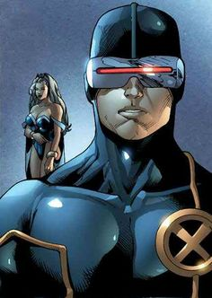 Cyclops and Storm