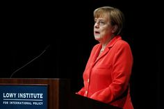 Putins Annexionspolitik: Merkel warnt vor russischem Einfluss in Moldawien, Serbien und Georgien  Kanzlerin Angela Merkel hat in Sydney deutliche Worte gefunden: Russlands Staatschef Wladimir Putin stelle die europäische Friedensordnung in Frage. Der Westen müsse entschlossen vorgehen, sonst bedrohe seine Machtpolitik auch andere Länder.
