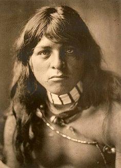 "Yan-tsire (Yalm Tsedih) aka ""Willow Bird"". San Ildefonso Pueblo, New Mexico. 1905. Photo by Edward S. Curtis. Source - Smithsonian National Museum of the American Indian."