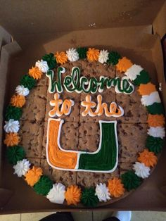 This is how you welcome a freshman to the University of Miami!